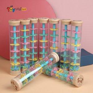 New 2021 Kids Rain Rainmaker Rainstick Musical Toy Raindrop Sound for Kids Rain Stick children Educational Instrument Toy Wholesale