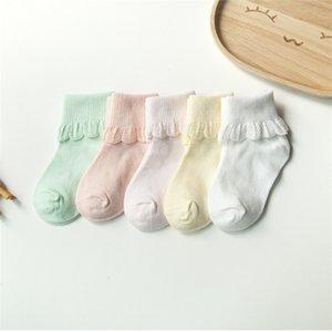 Lawadka 5Pairs Cotton Kids Meias Moda Esporte Curtas Meias Bebê Meninas Meias 904 x2