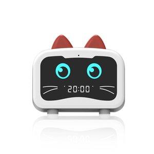 Smart Alarm Clock Speaker Mini Cute Pet Portable Charging Wireless Radio Long Battery Life Subwoofer Bluetooth Speakers
