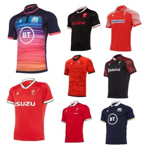 2020 2021 Wales Schottland Rugby Jersey 20 21 Home Away Welsh Pathway Größe S-5XL Scottish Shirt MAILLT CAMISETA MAILION