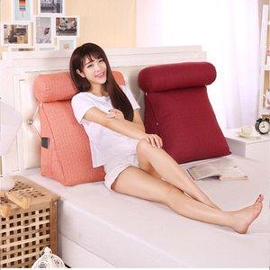 Pillow 24 Backrest Big Back Support Bedside Lumbar Chair Cushion Lounger Reading