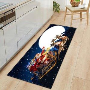 Carpets Christmas Rectangle Kitchen Mat Entrance Door Home Decor Living Room Carpet Bedroom Bedside Antibacterial Non-slip