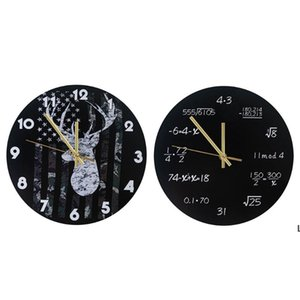 Industrial Modern Wall Clock Art American Personality Living Room Clocks Home Office School Vintage Decor DHD6220