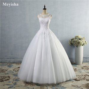 ZJ9036 2021 High Quality Puffy Sweetheart Wedding Dress Tulle Ball Gown Bride Dresses Size 2-26W