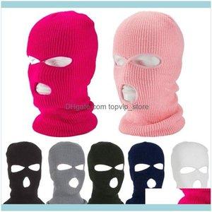 Protective Gear Sports Outdoorstactical Mask 2 Hole Full Face Ski Winter Cap Balaclava Hood Motorbike Motorcycle Helmet Cycling Caps & Masks