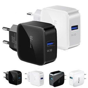 Quick Charge Eu US QC3.0 Wall charger Power Adapter For htc samsung s8 s9 s10 note 10 android phone pc
