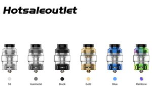 GeekVape Obelisk C Cerberus Tank with 5.5ml 4ml capacity Tri-slotted Bottom AFC Ring Adjustable Airflow 100% Authentic