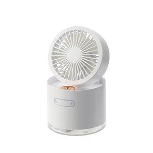 WT-D22 Mini Desktop Ventola Desktop Due-in-one Umidificatore Pieghevole USB Spray per l'ufficio Dormitorio Ventilatori elettrici