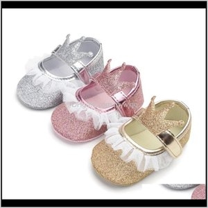 First Walkers Infant Bottom Soft Autumn Spring Baby Born Cute Nonslip Prewalker 018M Toddler Shoes Girls Princess Amz2L Cbn7I