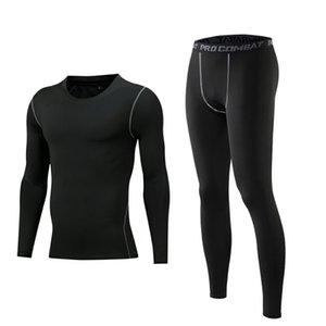 Заводские прямые продажи мужские спортивные колготки установлены для баскетбольных тренировок тренировки сжатия одежды и быстрые леггинсы футбол JER