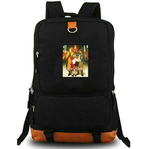 Gin backpack Tokyo Godfathers daypack Print cartoon schoolbag Laptop rucksack Sport school bag Outdoor day pack