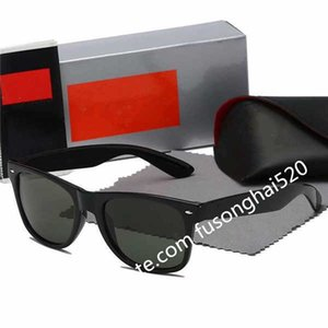 2021 New Hot High Quality Outdoor Eyewear Aviator Sunglasses Vintage Pilot Brand Band UV400 Protection Mens Womens Glasses With Box