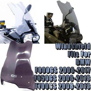 Motorcycle Sports Windshield Windshield Visor Wind Deflector Windscreen Fits para F800GS 2008-2021 F650GS F700GS 2008-2012
