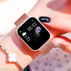 AD Waterproof Sport Boys Heart Fashion watch Girls Smart watches kids Bracelet Watch Rate -watch Monitor Children G22 992