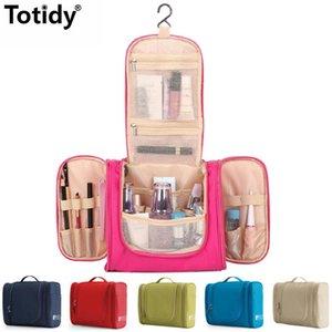 سفر المرأة حقيبة مستحضرات التجميل المحمولة حقيبة ماكياج ماء مستلزمات الحمام المنظم مستحضرات التجميل تخزين السفر كيت السيدات حقيبة الجمال