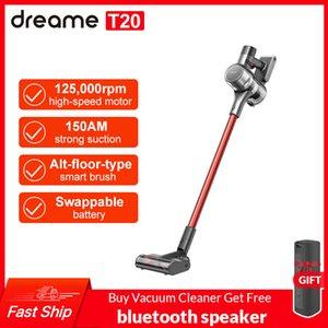 Dreamse T20 Poignée d'aspirateur sans fil d'ordinateur de poche Intelligent All-Surface Brosse 25kpa Toutes dans une poussière Pancher Tapis Aspirateur