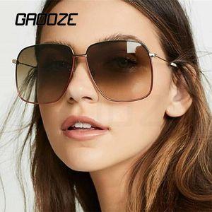 Gafas de sol Mujeres Gafas para hombre Plaza Sun Glass Vintage Oculos