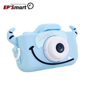 X5S Digitalkameras Schöne Tiere 2,0-Zoll-IPS-Bildschirm Kinder Geschenk 20MP High-Definition-Bildschirme Mini Spielzeug ABS Silikon-Kamera 32G-Speicher-Video-Foto-Lithium-Batterie
