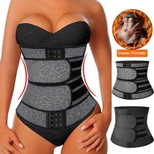 Faja Shapewear Neoprene Sauna Waist Trainer Corset Sweat Belt For Women Weight Loss Compression Trimmer Workout Fitness Women's Shapers