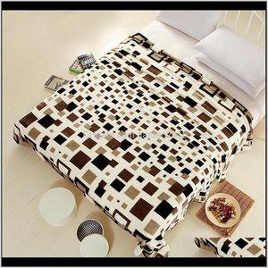 Blankets London Style Flag Coral Fleece Blanket On Bed Fabric Cobertor Mantas Bath Plush Towel Air Condition Sleep Cover Bedding 20111 Wkgu1