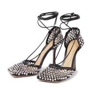 Женские сандалии для нового сезона осенних дизайнерских туфлей