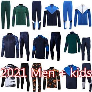 2021 2022 이탈리아 훈련 슈트 SOLVETEMENT FOLLOTTI 짧은 소매 폴로 셔츠 버폰 VERRATTI 자켓 키트 드 ROSSI 축구 트랙 슈트 샹들리기
