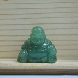 1pc pierre naturelle sculptée maitreya Buddha Fengshui Crystal Statue Craft pour la décoration de la maison Chakra Guérir Reiki qua Jlnua 404 Q2