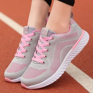 2021 Designer Running Shoes For Women Black Pink Bred Fashion Womens Trainers Outdoor Sports Sneakers size 35-40 11