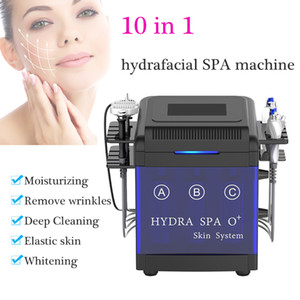 hydro system 10 in 1 microdermabrasion machine blackhead vacuum machines BIO rf skin lifting wrinkle removal Oxygen Spray Moisturizing