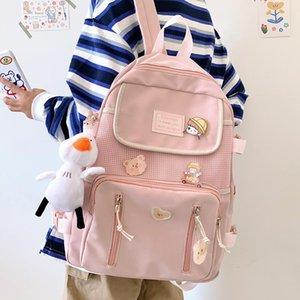 Backpack Classic Fashion Women Nylon Travel Black Waterproof Men For Teenage Girl Female College School BagMochila Rucksack