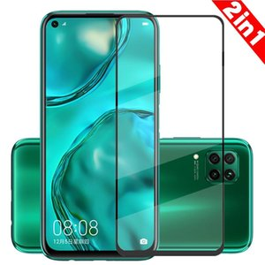 2Pcs Screen Protector Tempered Glass For Huawei P40 Lite HD Full Coverage Premium Film With 9H Hardness E Cell Phone Protectors