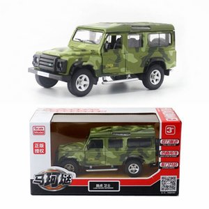 Hot-selling 136 alloy pull back off-road vehicle toy modelhigh-simulation SUV childrens car toy