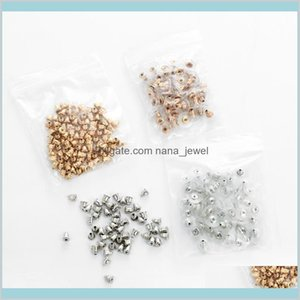 Components Alloy Backs Stoppers Earnuts Stud Earring Stopper Back Plugs Diy Jewelry Findings Accessories Making Drop Delivery 2021 Qbn