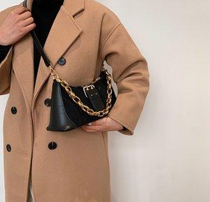 Французская сумка для женщин 2021 модная мода одно плечо подмышечное сумочка в западном стиле небольшой мессенджер