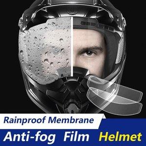 Motorcycle Helmets Universal Helmet Anti-fog Film And Rain Durable Nano Coating Sticker Accessories
