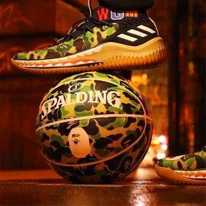 Spalding Camouflage Colour Homo Eectus 24K Black Mamba Merch ball Python pattern Commemorative limited edition PU game basketball