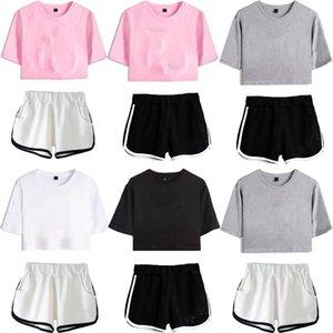 Womens Tracksuits XXS-XXL Summer 2 piece set Shorts outfits sleeveless vest tracksuit jogging sportsuit shirt pants suits sweatshirt sport suit selling kl6461