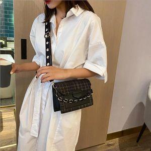 Широкий ремень Сумки на ремне для женщин 2021 дизайнерские женские сумки и кошельки модные цепочки мессенджер Crossbody сумка 1