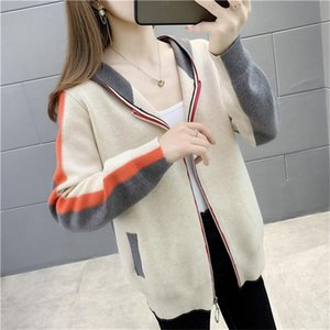women sweater Ladies pullover turtleneck cashmere chunky knit high-end ladies jumpers plus size chunky knit Print sweat shirt