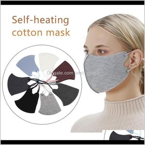 Caps 2021 Designer Warm Winter Thick Face Masks Adjustable Strap Fashion Unisex Women Mens Windproof Anti Dust Outdoor Cycling Mask Nh Qziaq