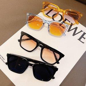 Sunglasses OLOEY Gradient Women Brand Designer Black Fashion Large Square Eyewear Street Shooting Trendy Hiking UV400 Zonnebril