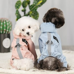 Impermeable Perro Dog Clothes Jacket Ropa Para Ubranka Dla Psa For French Bulldog Chihuahua Pet Raincoat Coat Roupa Puppy Abrigo 1279 V2