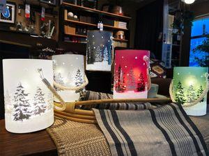 Table Lamps LED Light Xmas Decoration Tree   Sence Lamp  Xmas Gift Gift  Ambiance Decor Lamp Santa's Reindeer