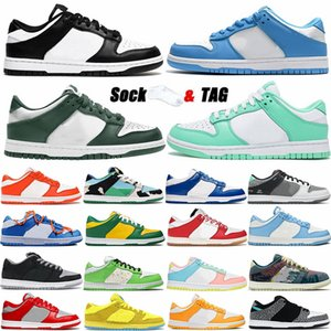 Dunks Running Shoes Low Easter Syracuse Coast Black White Green Kentucky Chunky Dunky Elephant University Blue Mens Skate Sports Sneakers Dunk Womens Trainers