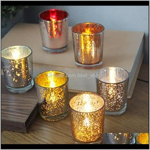 Holders Candle Starry Night Tea Light Holder Simple Christmas Luminous Candlestick Dining Table Wedding Decoration Sea Shiping Gwe3288 Ckuht