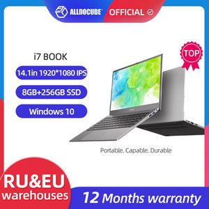 ALLDOCUBE Laptops i7 Book 14.1 inch 8GB Ram 256GB SSD Windows 10 Notebook Intel i7-6660U Processor 1920*1080 IPS laptop