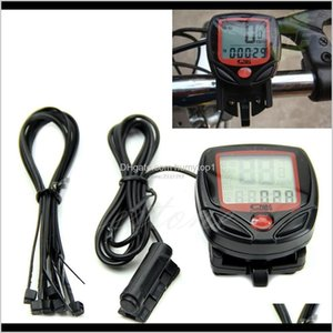 Computers Cycling Sports & Outdoors Drop Delivery 2021 Waterproof Digital Lcd Computer Cycle Bike Speedometer Odometer Professional Bicycle A