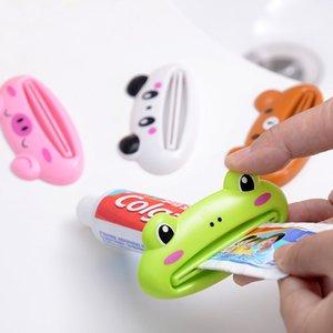 Toothpaste Squeetzer Accessori da bagno Accessori per il cartone animato Dentifrickpaste Estrusore detergente Squeezer Dispenser Supporto per il bagno Accessori da bagno HH21-247