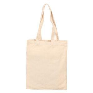 Custom Heat Transfer Print Shopping Bags A4 Cotton Linen Diy Sublimation Storage Shoulder Bag Blank Canvas Fabric Handbag GGA4277 BV71 RUBF