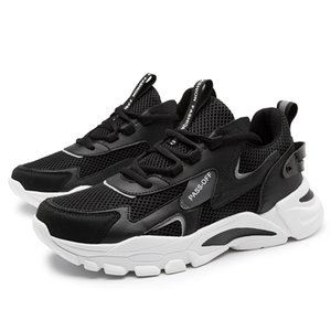Fashion Women Men Running Shoes Black White Beige Grey Breathable Bodybuilding Gym Tainers Outdoor Jogging Sports Sneakers Size EUR 39-44